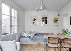 小户型的精致生活,48平米一居室小户型装修图