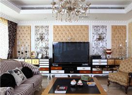 生活诗意欧式古典家,230平米两房两厅装修效果图