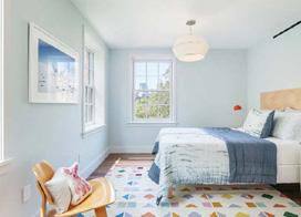 10款简约田园风格卧室平面图