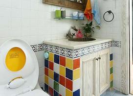 精致小空间,10款卫生间瓷砖效果图展示