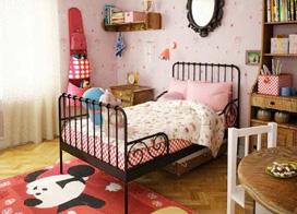 宝宝的舒适小卧室,10款儿童房家具布置实景图