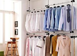 10款简易衣架装修效果图,点缀平淡生活