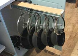 10款橱柜收纳设计图,让厨房家具不再乱放