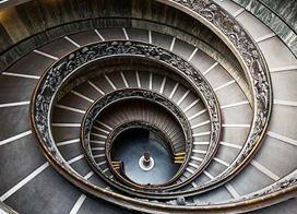 10款旋转楼梯设计巧妙图片展示