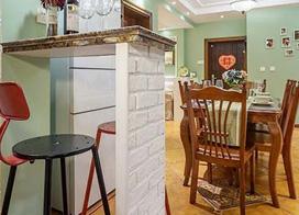 10款家庭吧台装修效果图,让生活充满小情调