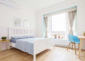 日式木质家具来搭配,120㎡日式风两居室效果图