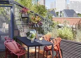 15款屋顶花园效果图片大全,不输私家庭院