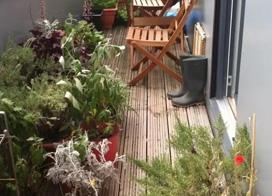 25款阳台花园装修效果图片大全,清凉一夏
