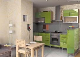 21款开放式厨房装修效果图,适合各种小户型!