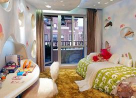 给孩子们一个快乐的童年,10款儿童房家具装修效果图