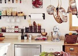 10款小厨房收纳装修图片,小空间发挥大作用