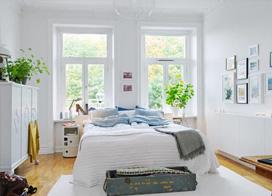 简单大方的设计色彩和家居布置,10款北欧风格卧室装修图
