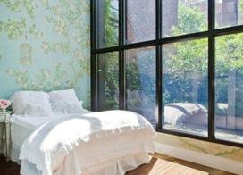 10款落地窗装修效果图,到处都充满了温暖