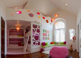 11款儿童房设计上下床设计图,让孩子有个美好童年