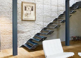 10款旋轉樓梯圖片,臺階上的個性化