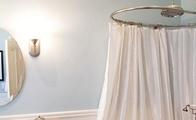 弧形浴帘杆安装方法以及注意事项