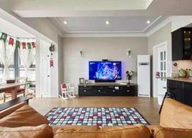 10款现代简约客厅装修效果图,没有茶几的客厅更宽敞