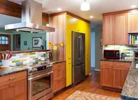 10款开放式厨房装修效果图,让食物快速的变成美食