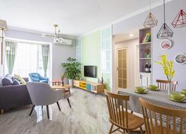 北欧小户型70平米两室一厅装修效果图