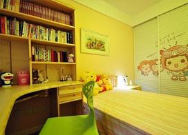 清新自然自在,88平米自然简约风两房一厅装修效果图