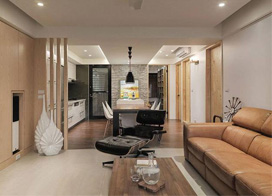 老宅翻新面貌,100平米现代简约风格装修图片