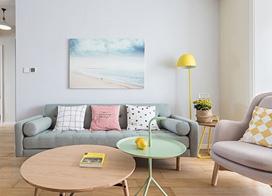 完美的细节设计,90平米北欧风格两室改三室装修效果图
