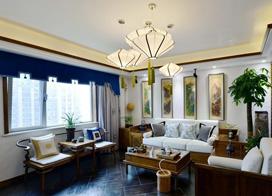 盘点时下流行23款新中式客厅卧室隔断效果图,每一个都让人惊艳