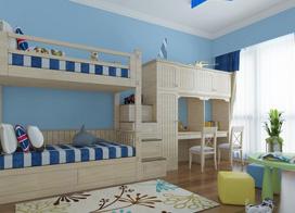 12款儿童房上下床铺效果图,非常的实用美观