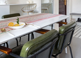 光线充足的家最舒适,80平米两房一厅装修效果图