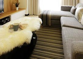 温暖有生活感,90平米现代简约两房两厅装修效果图