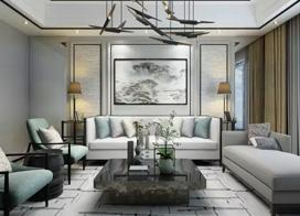 16款高档中式客厅澳门皇冠A级视频效果图,相同的风格,不一样的精彩