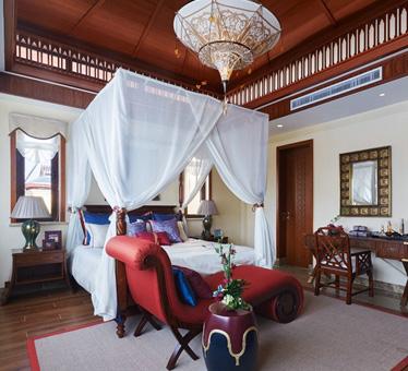 富有特色的东南亚风格装修,独栋别墅装修效果图