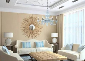 20款沙发背景墙效果图,轻松get搭配小技巧