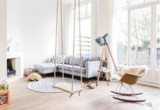以宝宝为中心的120平三室家居设计效果图,满满的全是爱!