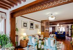 110平中式情怀两房两厅装修效果图,传达东方美韵