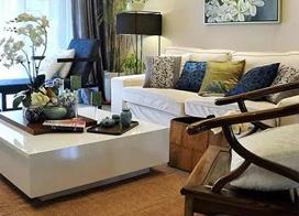 20张现代风格客厅装修效果图,简约温馨