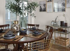 平淡生活里的不平凡世界,130平米两房一厅装修效果图