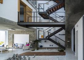 钢结构楼梯图集,体现现代简约的建筑之美