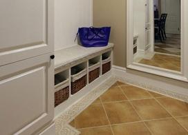 10款小户型进门鞋柜装修效果图,高效利用玄关做收纳方法大全