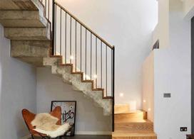 8款复式楼梯装修效果图,你理想的复式楼梯设计是这样的吗?