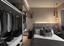 9款衣橱效果图,打造健康卧室空间