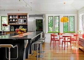12款开放式厨房吧台装修效果图