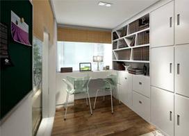12款书房装修效果图,你应该有个这样的书房