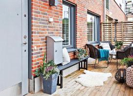 小空间大容量,35平米一居室小户型装修效果图