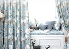18款飘窗窗帘效果图,让你拥有一个浪漫风情的飘窗