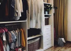 13款卧室衣柜装修效果图,合理存放衣物
