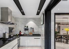 恬静淡然,248平米现代风格四室二厅装修效果图