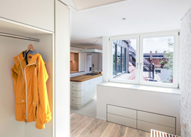 冰雪耀眼现代简约公寓,175平米两房一厅装修效果图