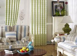 诠释不可或缺之美,10款布艺窗帘装饰图