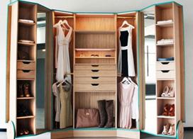 不怕装不下,10款大容量卧室衣柜装修效果图